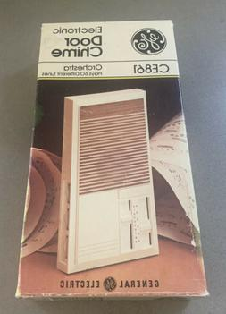 Vtg 1979 GE Electronic Door Chime CE861 Hong Kong Orchestra